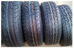 New Bridgestone dueler A/T 265/65/R17 Tyres with mag rims for Toyota