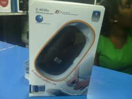 Hp 2.4GHZ wireless mouse.