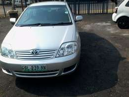 Toyota corolla 1.4 Model 2005,5 Doors factory A/C And C/D Player