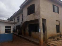 Renovated 6 nos of 2 bedroom flat in a decent area at Abule-Egba