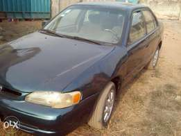 Super clean registered Toyota corolla 2000 model