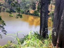 0.6 acre of land on a crater lake for sale in Fort Portal at 8 Million