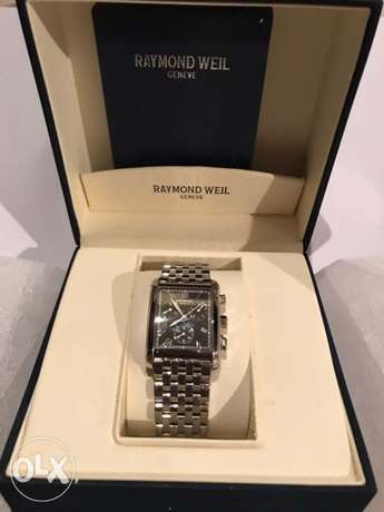 RAYMOND WEIL GENEVE Chronograph Watch very light used