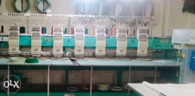 Embroidery Factory FULLY Equipped we accept Bankers Cheque in Dollar