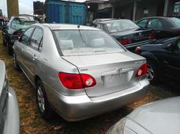 Foreign Used Toyota Corolla - 2007 For Sale