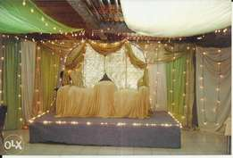 We do events,wedding decor,wedding cake at an affordable rate.