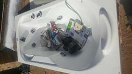 jacuzzi bath with motor complete
