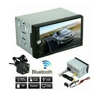 LCD double radio that support reverse camera