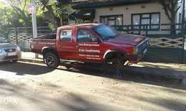 1994 Nissan double cab selling whole van as spares