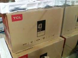 """Tcl 43""""brand new"""