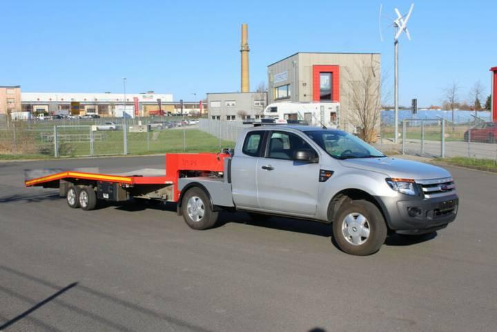 Ford Ranger 4x4 XL ABZ Aufbau Sattelkupplung - 2013