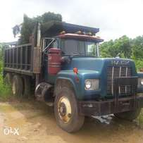 Blue R Model Short Tipper Truck