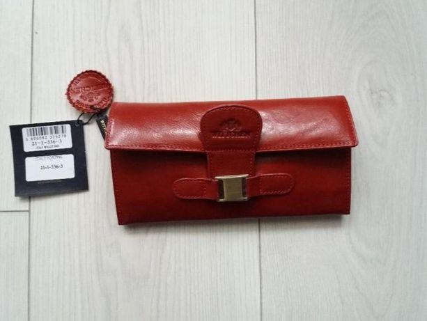 bc1805c84184e Portfel Wittchen Italy kolor czerwony NOWY Wrocław Fabryczna • OLX.pl
