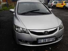 Honda Civic 1.8VXi Sedan Model 2012 5 Door Colour Silver Factory A/C&D