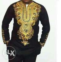 African Embroidery style Men shirts