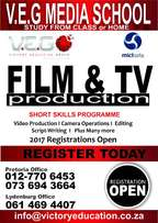 Film & TV Production & Other Short Courses Registration Is Open