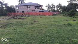 -Quick quick quick plot for sale -Mtwapa animo -Ndonye area -Size is q
