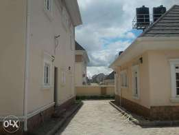 3 bedroom semi-detached duplex with 1 room boys quarters in Jabi