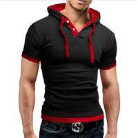 New men Tshirts Hooded Tees Hot Sale