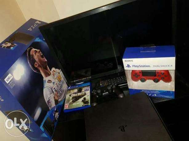 PlayStation a month fairly used Lagos Mainland - image 1
