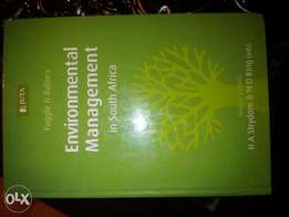 Environmental management book for sale