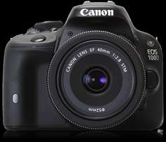 Canon Eos 100D with equiptment - Read Carefully