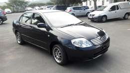 A Shinning 2006 Toyota 140i Corolla GLS manual with complete extras!