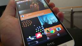 HTC One M8 with extras neg
