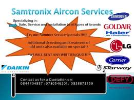 Samtronix Aircon Services