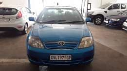 2007 Blue Toyota Corolla 1.6 Sarinter for sale
