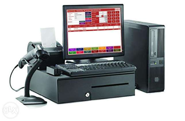 Retails POS & min Supermarket Full Package i5 CPU