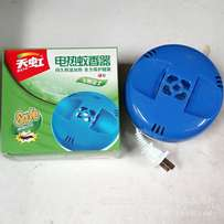 Electric odourless, smoke free mosquito coil and insect repellant