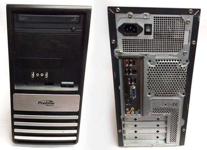 Refurbished Proline Officeware Core I3 1st Generation Computer