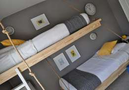 Floating bunk beds!