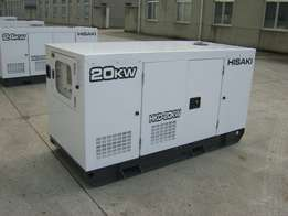 20KW/25KVA,Three phase,standby Power Generator with ATS for SALE!!