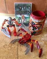 2 Lego Bionicles and Bionicle DVD