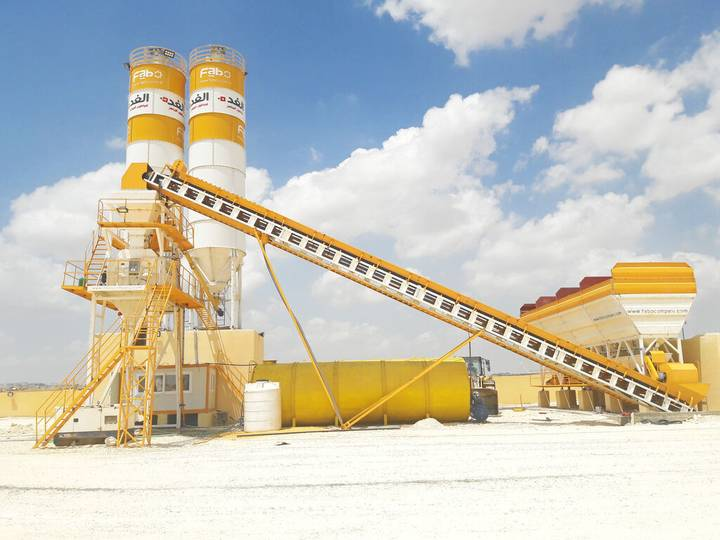 Fabo POWERMIX-100 CONCRETE MIXING PLANT | SPECIAL OFFER - 2019