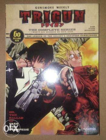 trigun complete anime series brand new