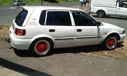 R16999 model Toyota Tazz 1.3 for sale