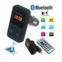 Car wireless Bluetooth FM transmitter
