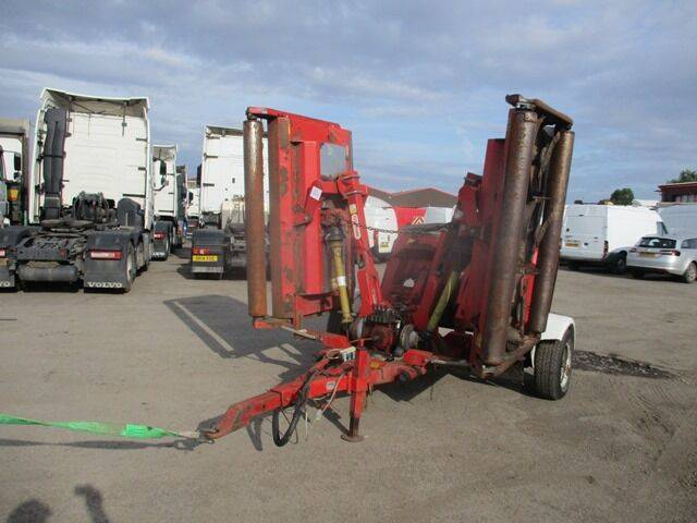 Trimax pegasus 493 mower for sale by auction