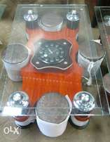 Tampered Clear Glass Top