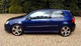 Vw Golf 5 GTI manual 2.0 TFSI breaking up for spares