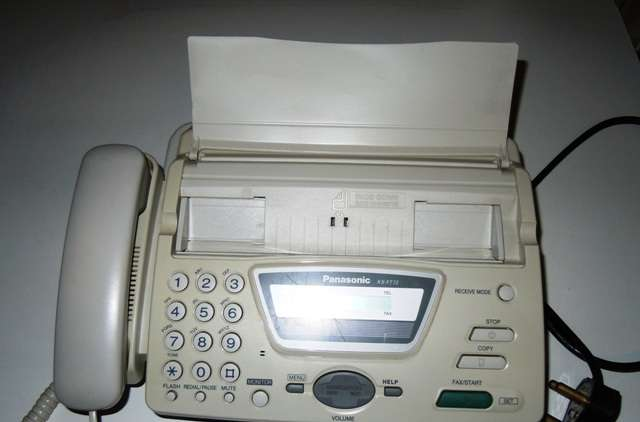 Panasonic – Fax Machine – Thermal - KX-FT72SA Newlands - image 1