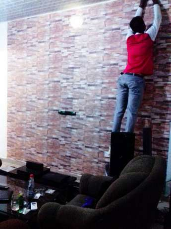 Sales and Installation of Durable and Long Lasting Wallpaper Oredo/Benin-City - image 1