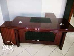 Quality Executive Office Table With Extension (7869)