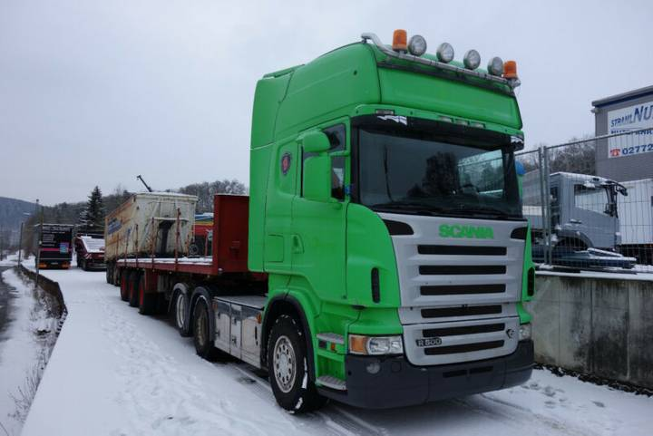 Scania R 500 6x2 + Auflieger - 2006