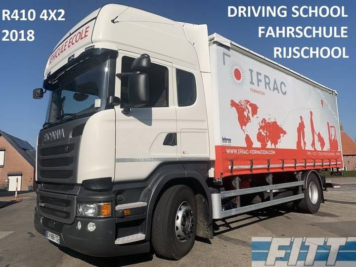 Scania R410 2018 LESAUTO, dubb bediening, 6 zitplaatsen, schuifz... - 2018