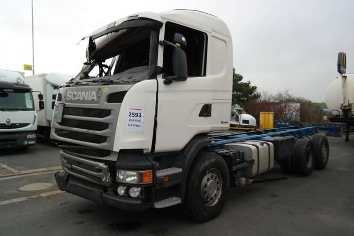 Scania R450 6x2 EURO 6 RETARDÉR podvozek po nehodě - 2015