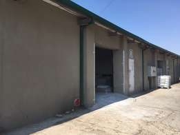 Awesome ground floor mini industrial unit